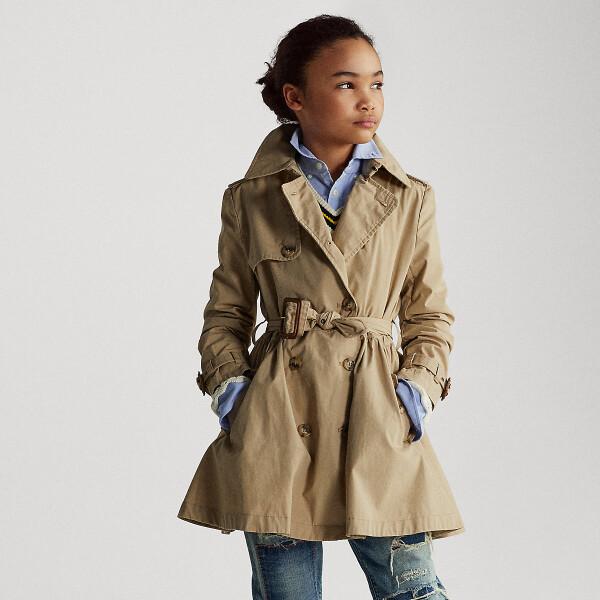 Bilde av Polo Ralph Lauren Teens - Trench Coat Khaki