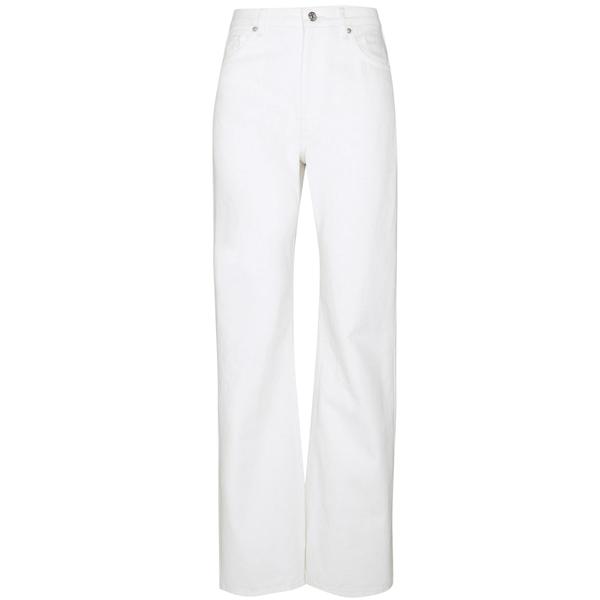 Bilde av NA-KD - Relaxed Full length Jeans Ecru