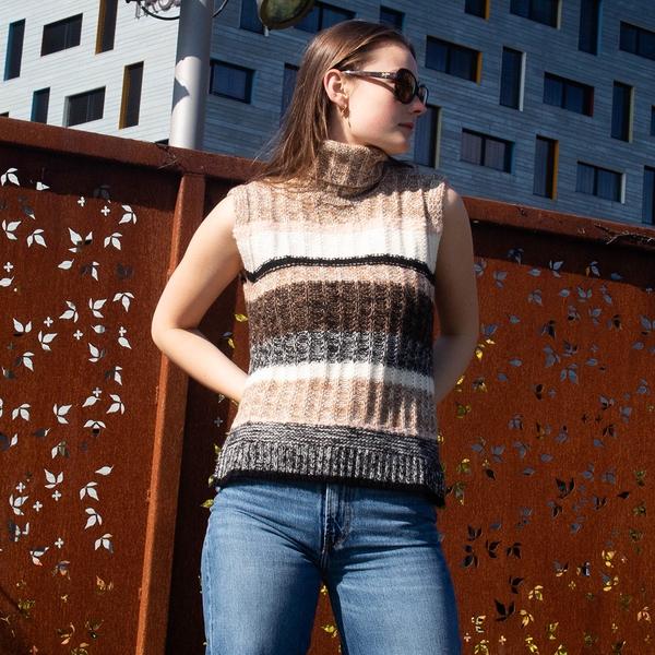 Bilde av Second Female - Vest Ahlam Knit
