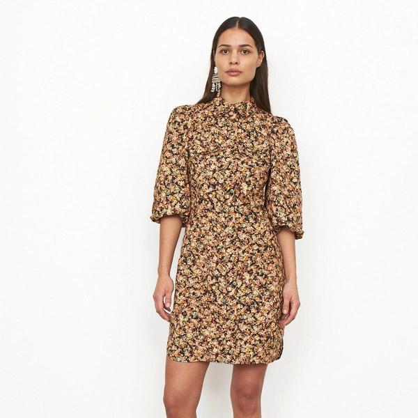 Bilde av Second Female - Kjole Mayda Dress Roasted Nut
