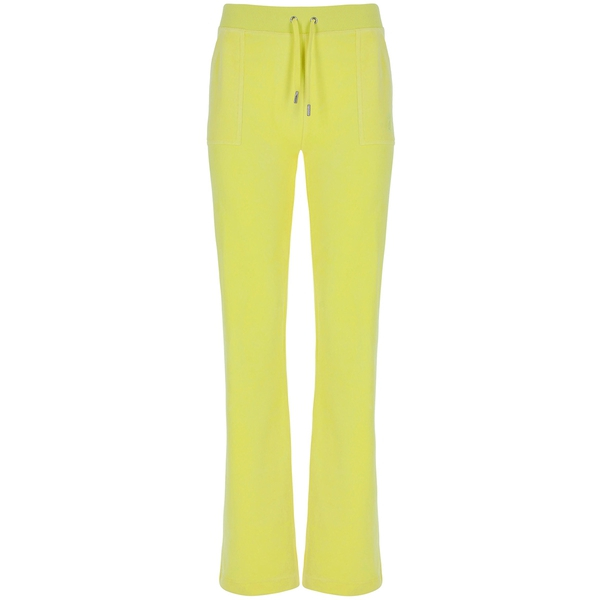 Bilde av Juicy Couture - Bukse Del Ray Cotton Rich Lemon