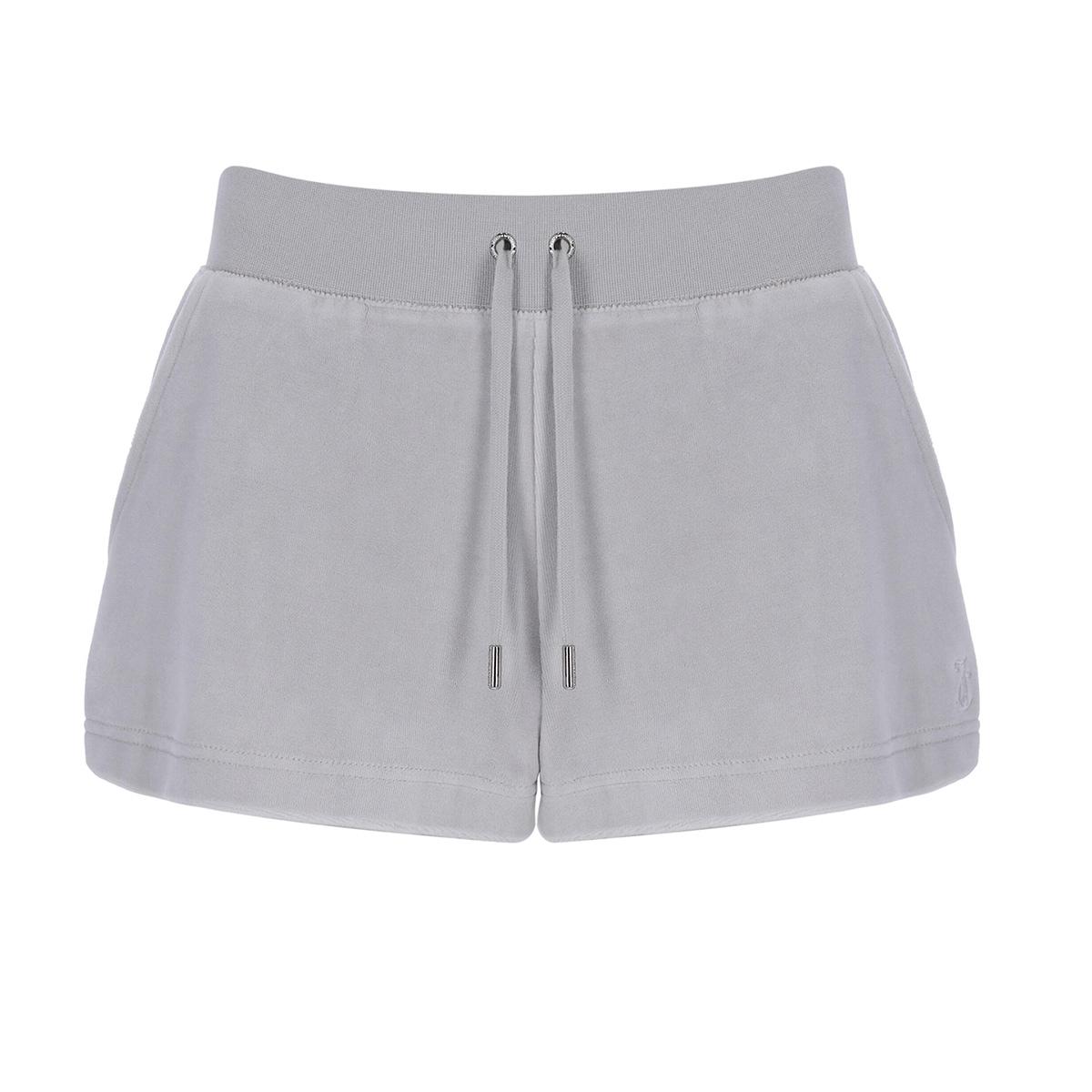Juicy Couture - Shorts Eve Cotton Rich Quiet Grey