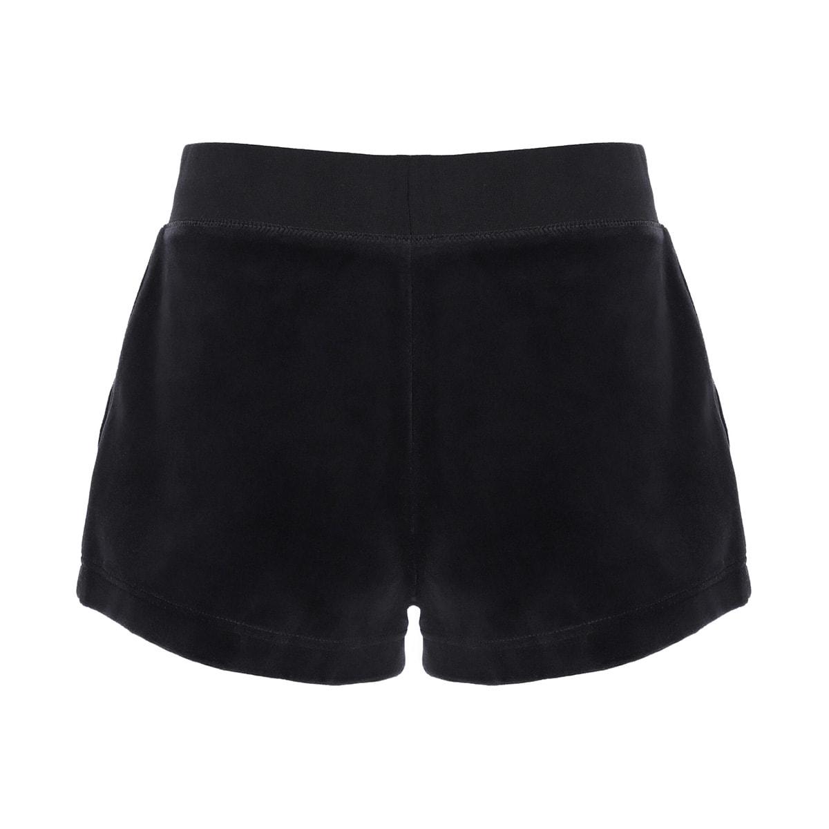 Juicy Couture - Shorts Eve Cotton Rich Black