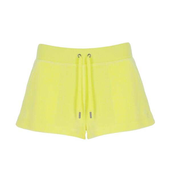 Bilde av Juicy Couture - Shorts Eve Cotton Rich Lemon Drop