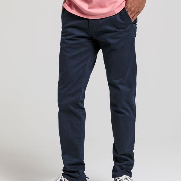 Bilde av Gant - Chinos Bukse Marineblå