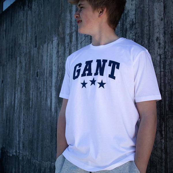 Bilde av Gant - T-skjorte Varsity SS Hvit