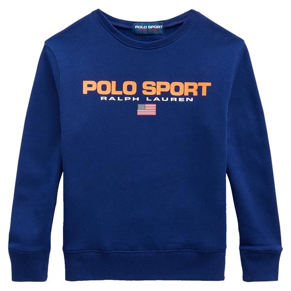 Bilde av Polo Ralph Lauren Teens - Sport Retro Sweat Blå