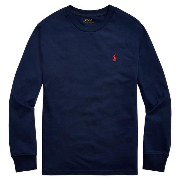 Bilde av Polo Ralph Lauren Teens - LS T-skjorte Navy