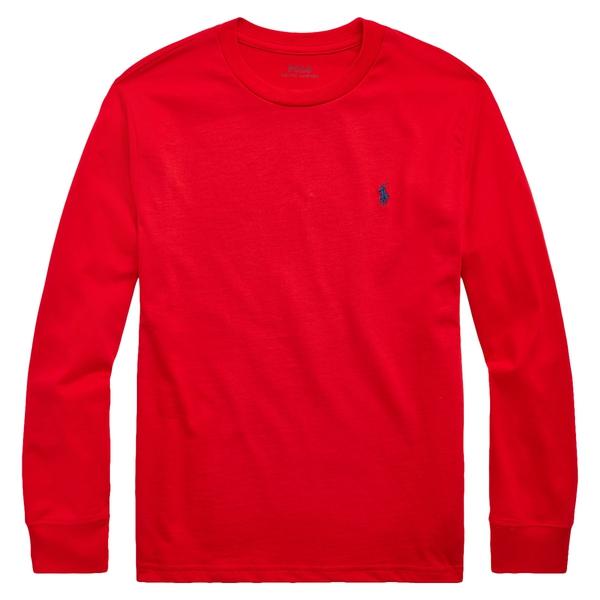 Bilde av Polo Ralph Lauren Teens - LS T-skjorte Rød