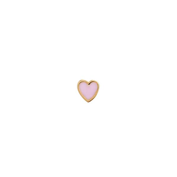 Bilde av Stine A - Øredobb Petit Love Heart Light Pink