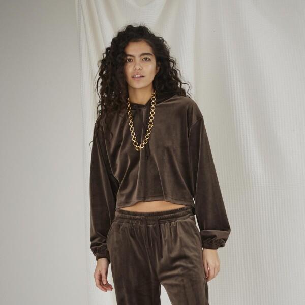Bilde av Designers Remix Girls - G Frances Cropped Hoodie
