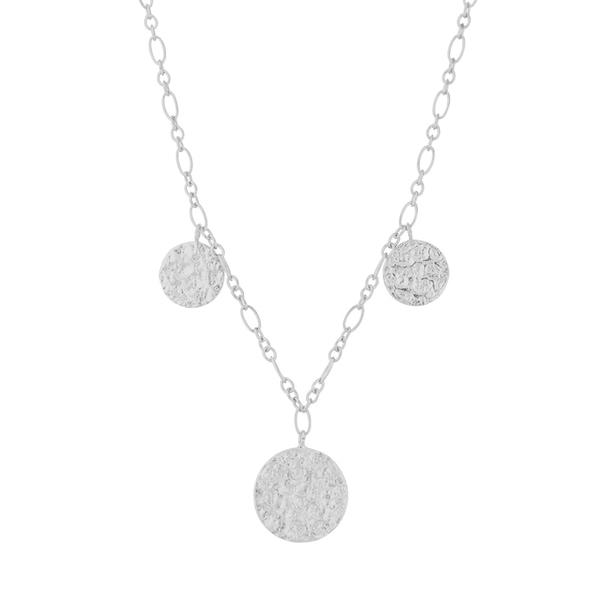 Bilde av Pernille Corydon - S New Moon Necklace Sølv
