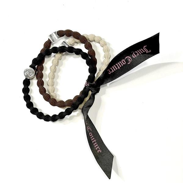 Bilde av Juicy Couture - Hårstrikk 3 stk svart, brun,