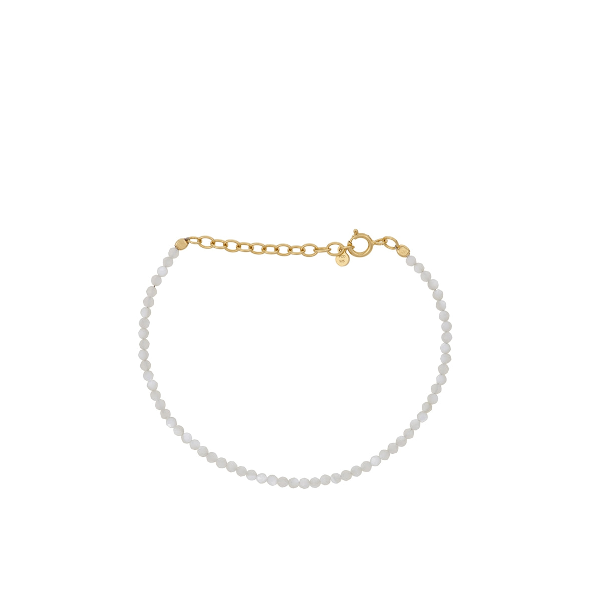 Pernille Corydon - Armbånd Shell Bracelet Hvitt