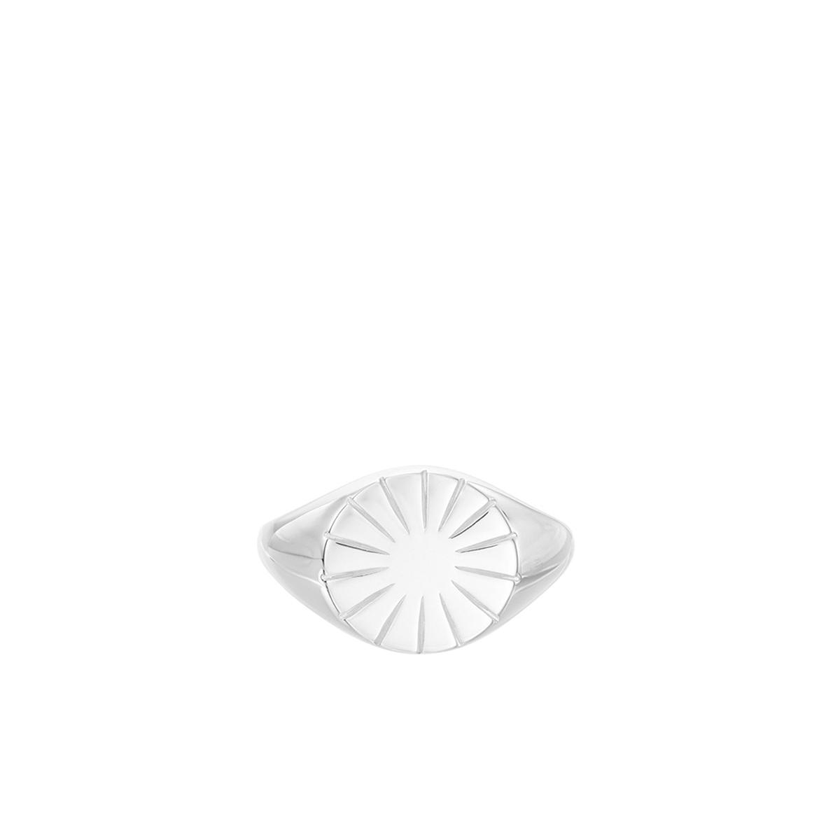 Pernille Corydon - R Era Signet Ring Sølv