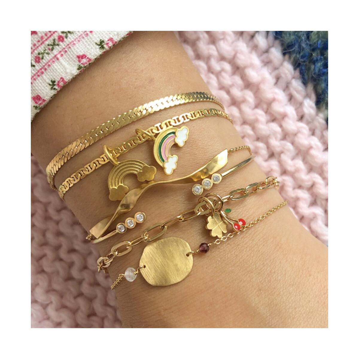 Stine A - Armbånd Snake Bracelet Gold