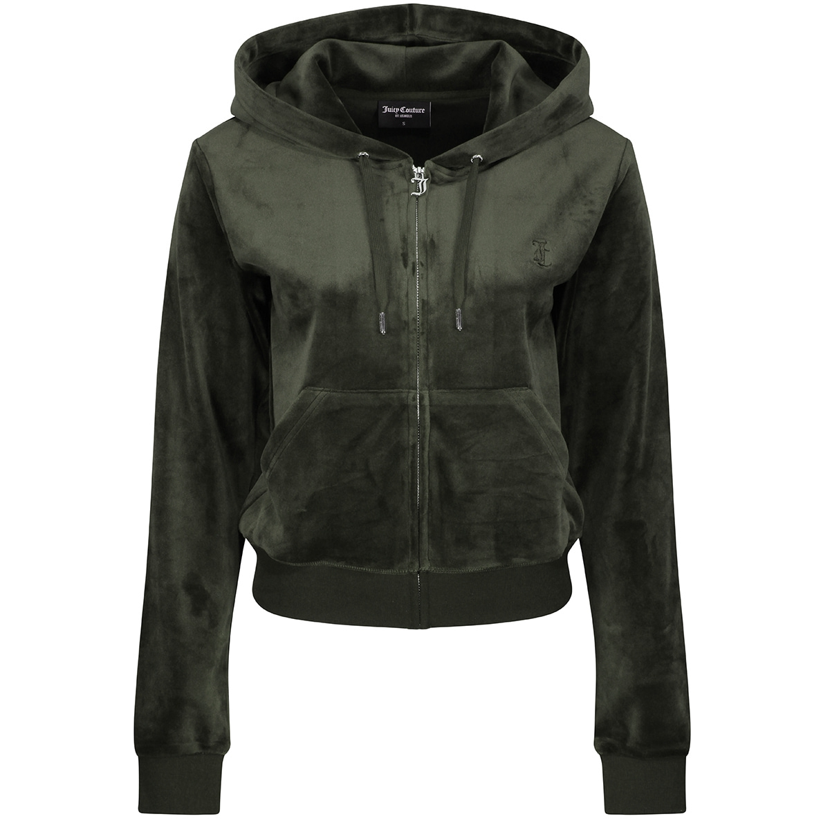 Juicy Couture - Jakke Roberston Velour Dark Moss