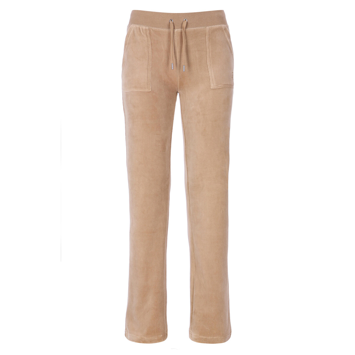 Juicy Couture - Bukse Del Ray Velour Warm Taupe