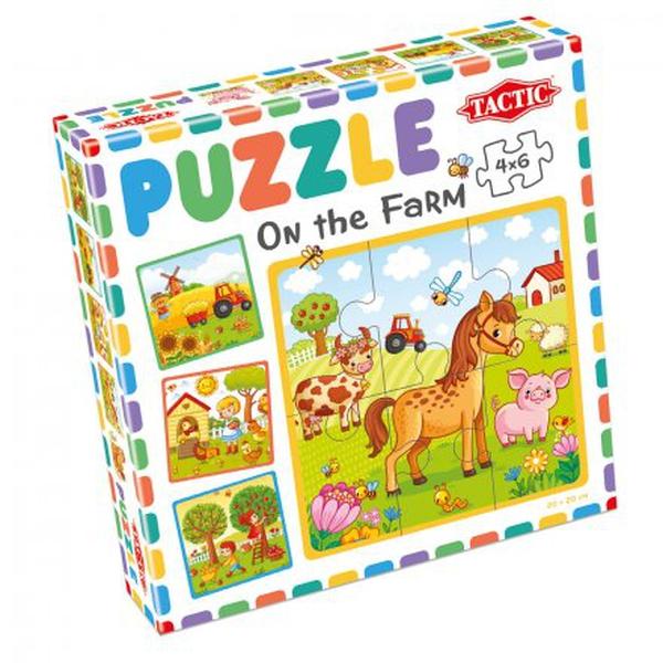 Bilde av Tactic My First Puzzle 4X6pcs, On The Far,