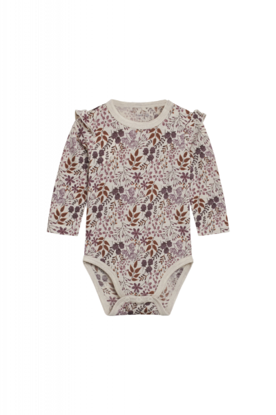 Hust&Claire Bibi Body, Beige Blomster