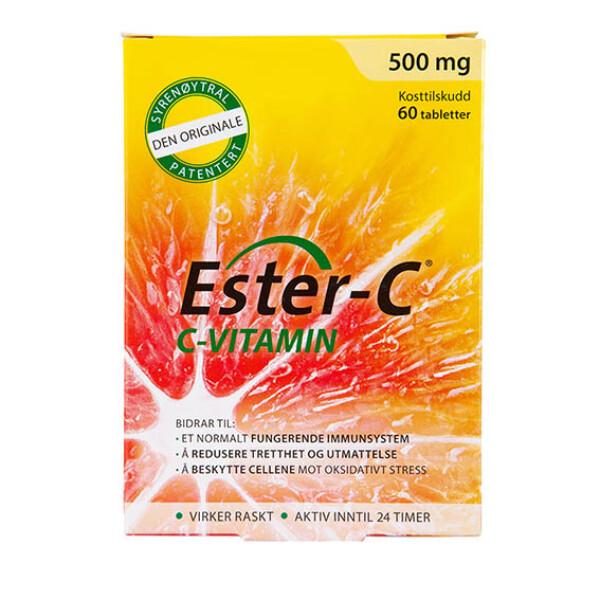 Bilde av Ester C 500mg vitamin C 60tab