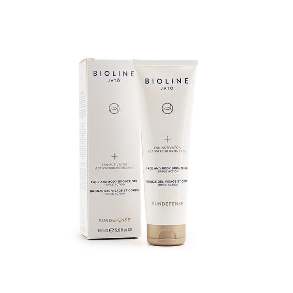 Bilde av Bioline Sundefense Tan Activator Face/Body Bronze Gel 150 ml