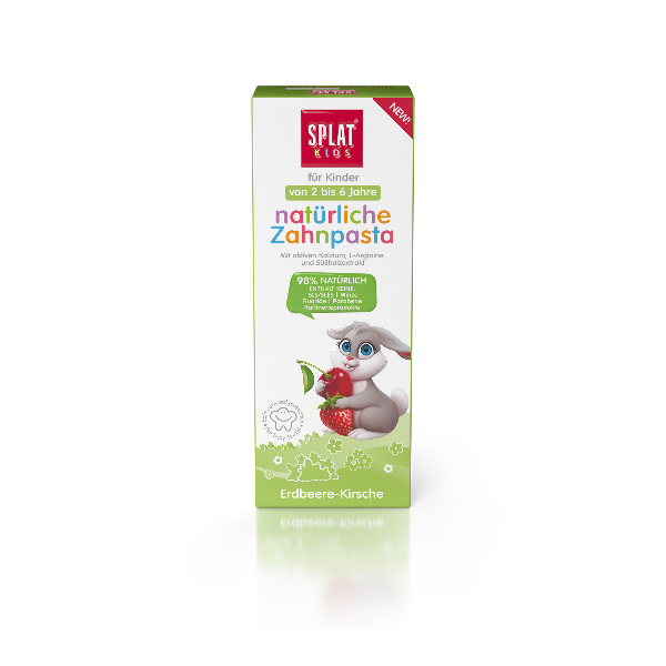 Bilde av Splat Barn Wild Strawberry-Cherry Tannkrem 50ml