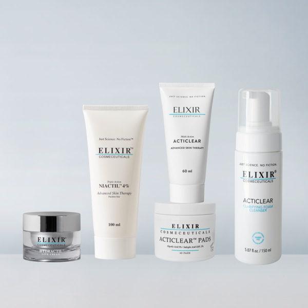Bilde av Elixir hudprogram: Mot uren hud