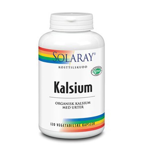 Bilde av Solaray kalsium 120 kap