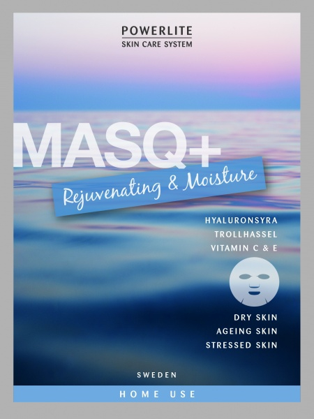 Bilde av Powerlite MASQ+ Rejuvenating & Moisture 6 pack