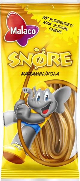 Bilde av Malaco Snøre - Karamell/Cola 94g