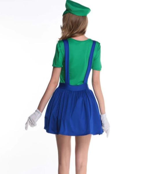 Bilde av Mario & Luigi Kostyme- Dame
