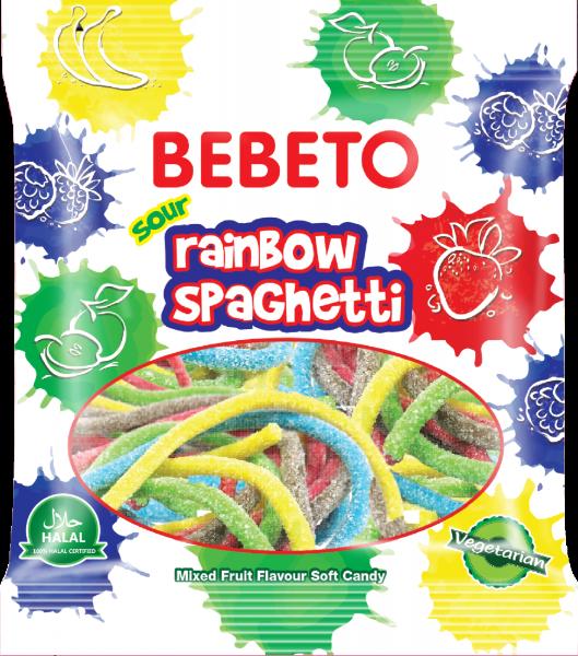 Bilde av Bebeto Rainbow Spaghetti 80g