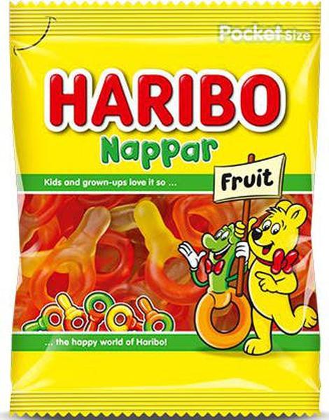 Bilde av Haribo Fruktsmokker 80g