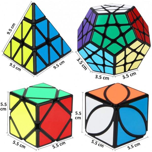 Bilde av IQ Kube-sett 4 Ulike Kuber