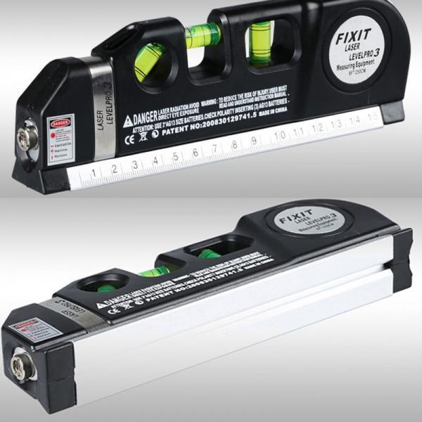 Bilde av 3i1 Laser-Vater-Målebånd