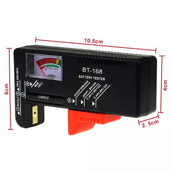 Bilde av Batteritester