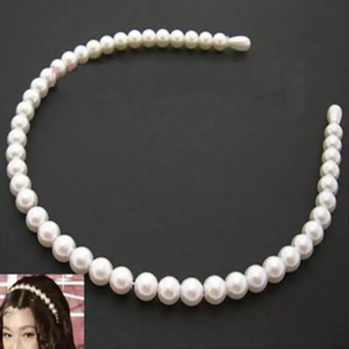 Hårbøyle Perler