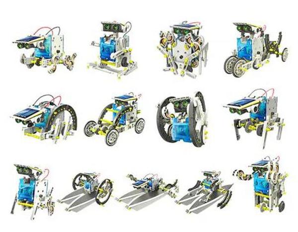 Bilde av Solcelle robot sett 13i1