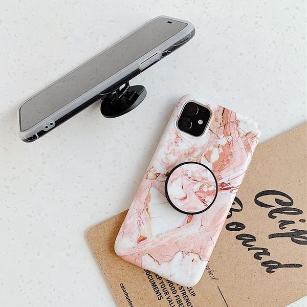 Bilde av iPhone 12/12 Pro deksel - Marmor Med Holder