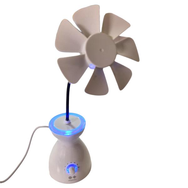 Bilde av USB Vifte Med Lys'