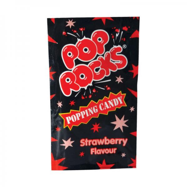 Bilde av Pop Rocks Popping Candy Jordbær