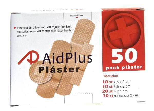 Bilde av Plaster 50pk Mix