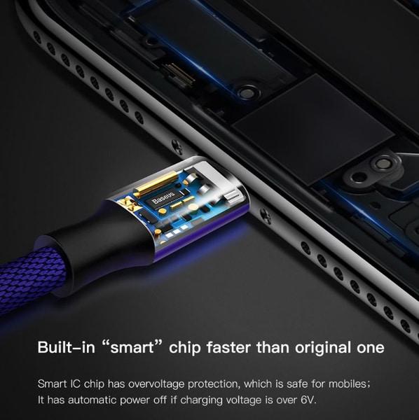 Bilde av Lang & Hurtig Ladekabel For iPhone 1,8- 3m