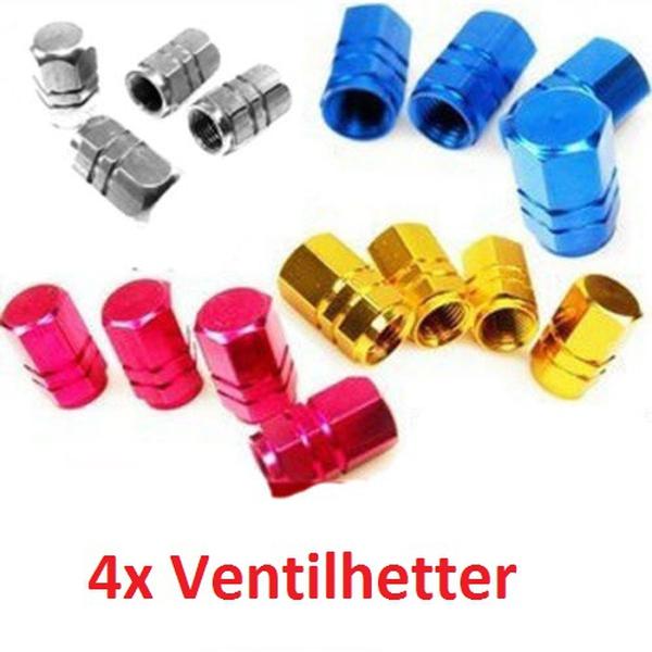Bilde av 4stk Ventilhetter i Aluminium