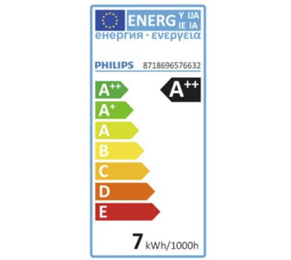Bilde av Philips LED-globepære E27 806 lm