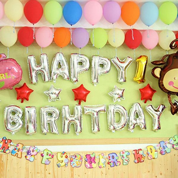 Bilde av Happy Birthday ballonger