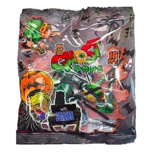 Bilde av Halloween 10pk Ghost Pops Kjærligheter