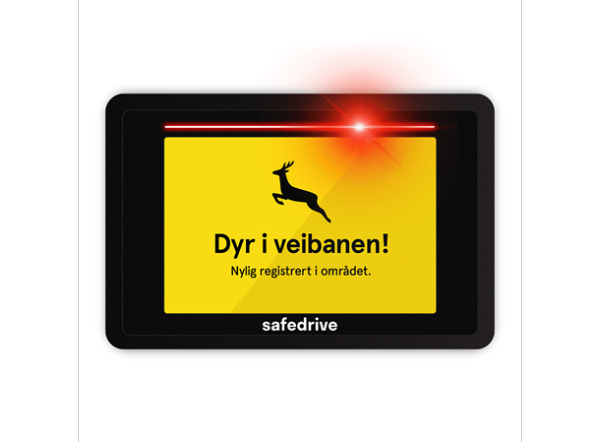 Bilde av GPS RADAR - Safedrive Pro