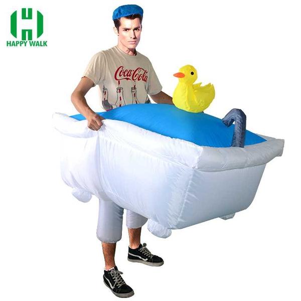 Bilde av Oppblåsbart Badekar kostyme for Voksne